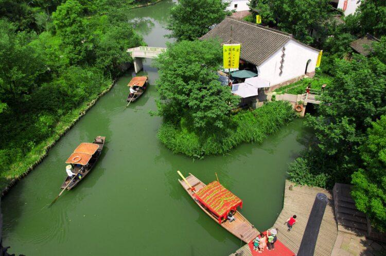 西溪湿地二期免费景区