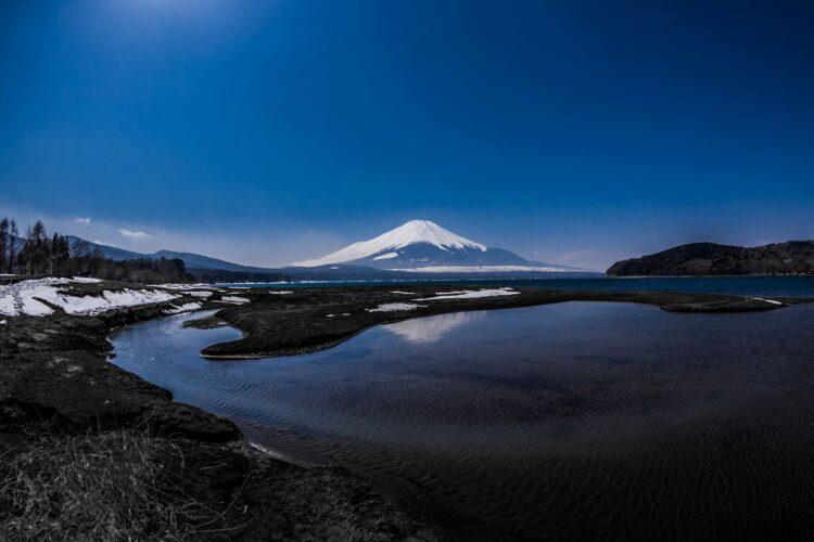 山中湖观富士山