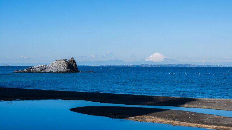 房總半島の海