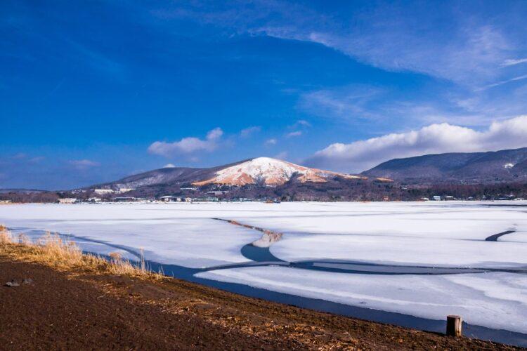 山中湖骑行