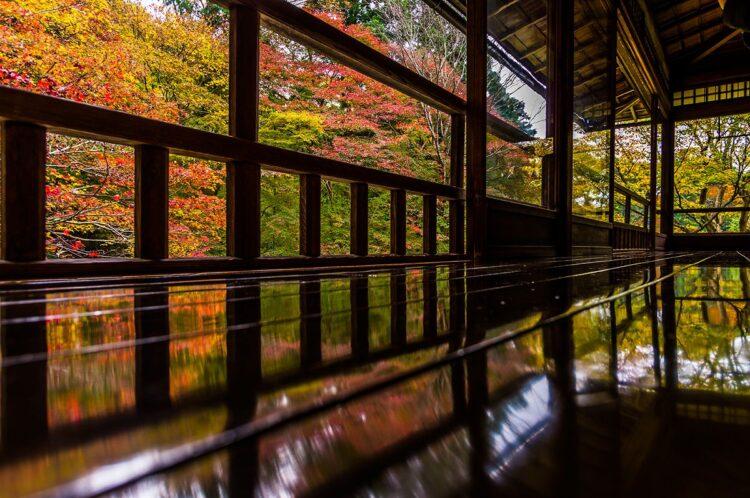 京都紅葉-比叡山周边