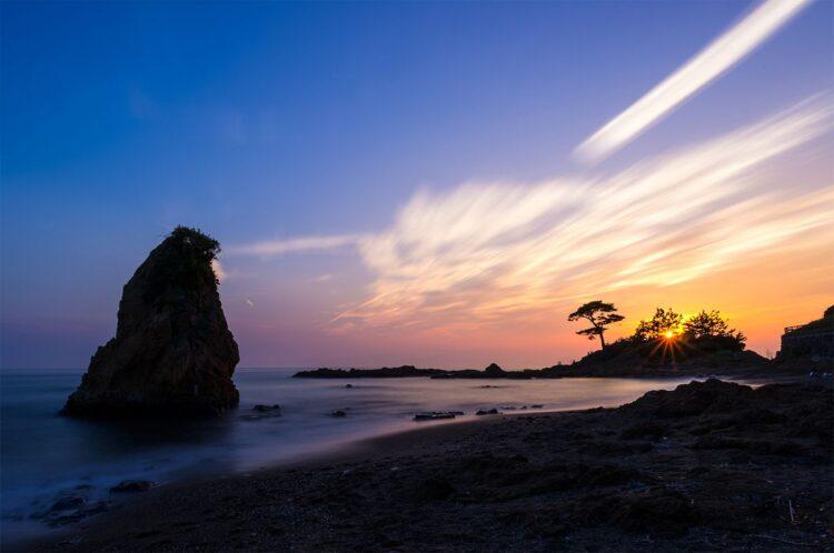 秋谷立石海岸